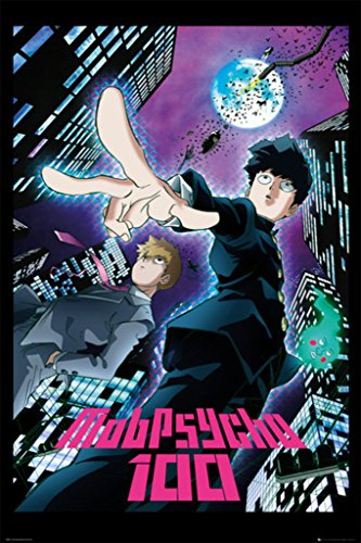 Mob Psycho 100 City Comic Art Poster