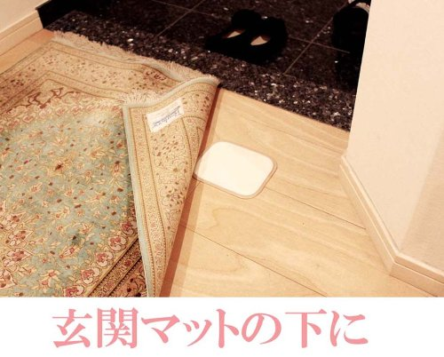 Just place! Poi collecting tick! (x 3 sets of 2 pieces) tick adhesive sheet ''tick hotel'' futon Set of 6 (japan import) by akadama (Image #4)