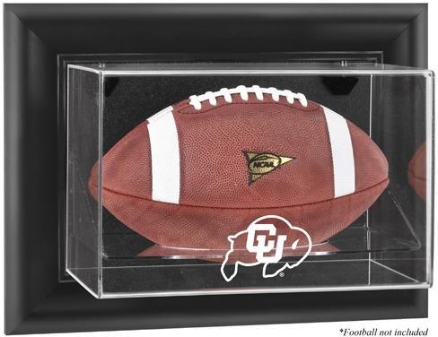 Display Case Football Buffalo (NCAA - Colorado Buffaloes Framed Wall Mountable Football Display Case)