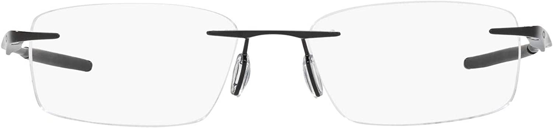 Oakley Men's Ox5118 Wingfold Evr Titanium Rectangular Prescription Eyeglass Frames