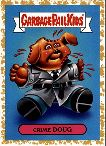 2018 Garbage Pail Kids We Hate the '80s TV Shows & Ads Gold