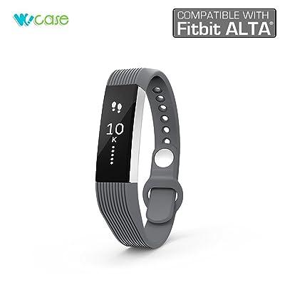 Wocase Accessoire Bracelet (style classique) pour Fitbit Alta (Best cadeau pour bracelet Fitbit Alta utilisateur) d'activit¨¦ et de sommeil bande de bracelet Bracelet (Taille unique, compatible avec la plupart des