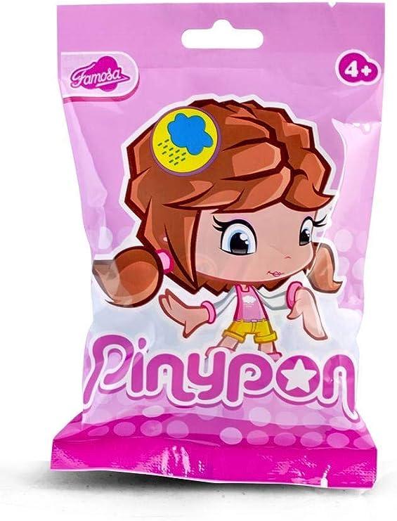 Amazon.es: Pinypon Muñeca, Figuras Serie 7, niña pelo negro (Famosa 700013362): Juguetes y juegos