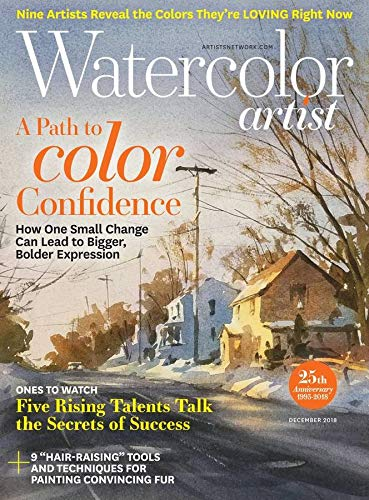 Magazines : Watercolor Artist [Print + Kindle]