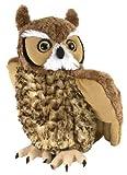 Wild Republic Great Horned Owl Plush, Stuffed Animal, Plush Toy, Kids Gifts, Cuddlekins 12'