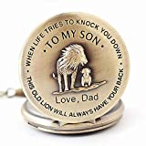 to My Son Boy's Pocket Watch,Engarved Pocket Watch