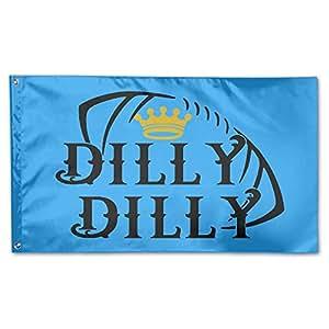 Qmenbeebki Elel Dilly Dilly - Bandera de Demonstración (100% poliéster, 7,62 x 12,7 cm)