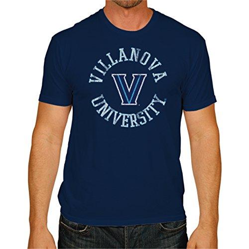 Original Retro Brand NCAA Villanova Wildcats Men's Victory Vintage Tee, Medium, Navy ()