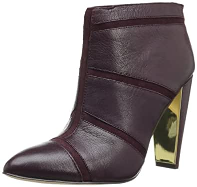 French Connection Women's Maddy Boot,Evening Wine,38 EU/8 M US