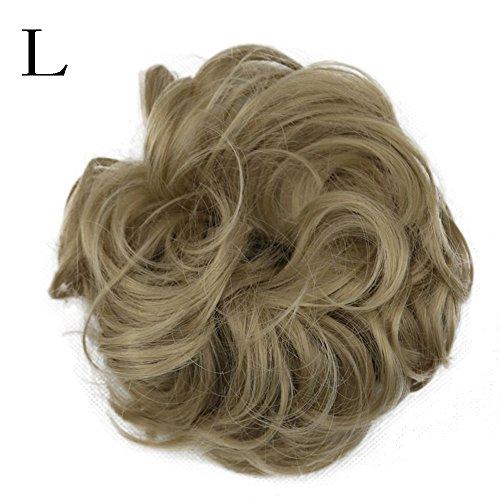 Chouchou À Cheveux Valentin 12 Saint La ✫higlles Chaleur Résistant Postiche Cadeau Bouclés Cheval Ondulés Queue chignon De Extensions 5SSwqH