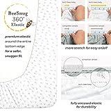 Burt's Bees Baby - Fitted Crib Sheet, Alphabet Bee