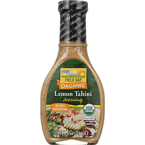 Field Day Dressing Organic Lemon Tahini, 8 fl oz, 12 ()