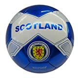 Scotland White Blue With Lion Country Flag FIFA World Cup Soccer Ball Size 5.. New