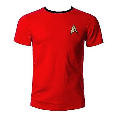 Officiel Star Trek Discovery-commande Uniform T-shirt NOUVEAU