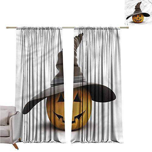 zojihouse Pumpkin Awning Room Darkening Curtain 55