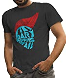 LeRage Shirts Fan Made Yondu Shirt I'm Mary Poppins Y'all Inspired Guardians of The Galaxy Tee Men's Charcoal Large