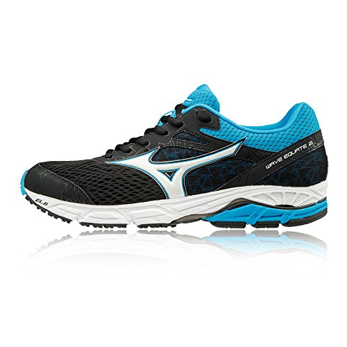 Men Running Equate Black Black 2 Shoes Mizuno Wave 76Bq7d