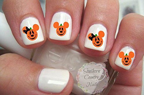 Halloween Nail Art Decals]()