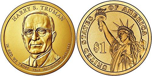 2015 D Bankroll of 25 - Harry S. Truman Presidential Uncirculated (Truman Dollar)