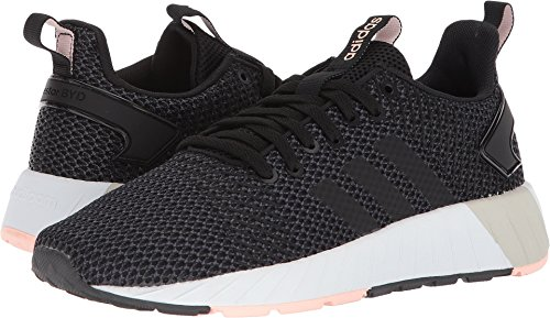 adidas Women's Questar BYD W Running Shoe, Core Black/Core Black/Haze Coral, 9 M US by adidas