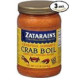 Zatarains Pre-Seasoned Crab and Shrimp Boil 72 Ounce (Pack Of 3)