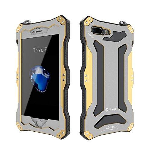 Aluminum Metal Bumper Case for Apple iPhone 7 (Gold) - 7