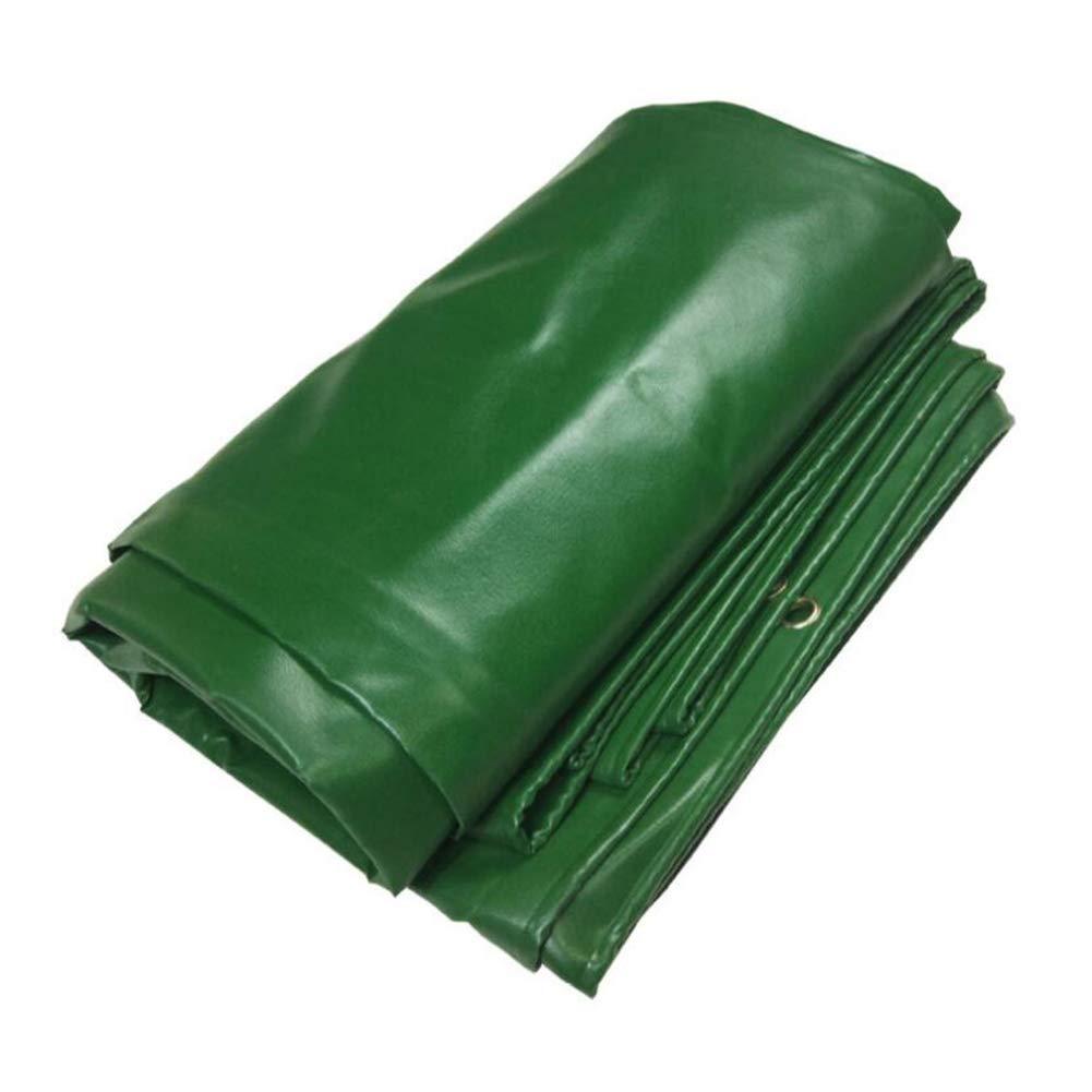 MuMa MuMa MuMa Plane Grün PVC Verdicken Regenfest Sonnencreme Einfach Falten Segeltuch Besonders Angefertigt (Farbe   Grün, größe   10  20M) B07KSZCNRK Zeltplanen Gewinnen Sie hoch geschätzt 233659