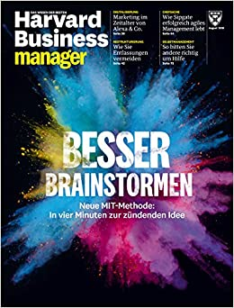 Harvard Business Manager 82018 Besser Brainstormen Amazonde