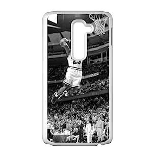 Bulls 23 basketball player Cell Phone Case for LG G2