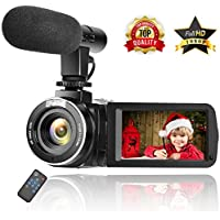 Camcorder Digital Video Camera Full HD 1080P 30FPS...