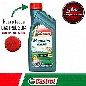 Aceite de motor Castrol Magnatec 10 W 40, 6 litros, SAE A3 ...
