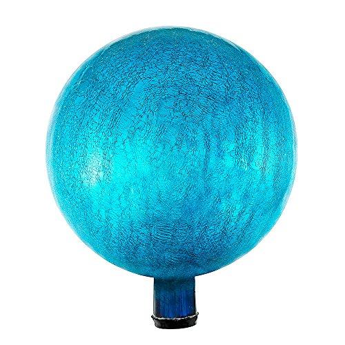 12 Inch Gazing Globe - Achla Designs G12-T-C Gazing, Teal 12 inch Glass Garden Globe Ball Sphere, 12