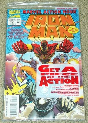 Iron Man #1 Special Poly Bag Edition (Marvel Action Hour)