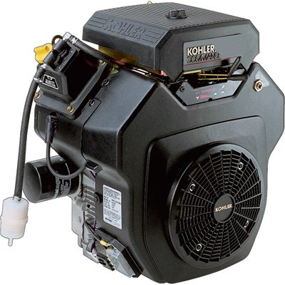 Kohler Command V-Twin OHV Horizontal Engine with Electric Start - 674cc, 1 1/8in. x 4in. Shaft, Model# PA-CH620-3100