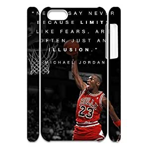 linJUN FENGCool Painting Michael Jordan DIY 3D Cover Case for ipod touch 5,personalized phone case case-689052