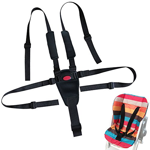 Baby 5 Point Seat Belts For Stroller High Chair - 5