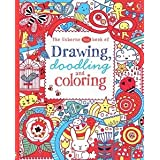 Usborne Books Drawing Doodling & Coloring Red Book