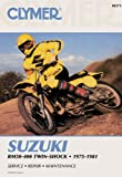 Suzuki RM50-400 Twin Shock, 1975-1981, Clymer Publications Staff and Penton Staff, 0892871962