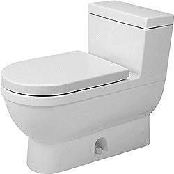 Duravit 2120010001 Toilet Starck 3, 1-Piece
