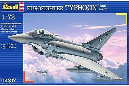 Revell Modellbausatz 04317 - Euro Combate Tifón Solo Setae en Escala 1:72: Amazon.es: Juguetes y juegos