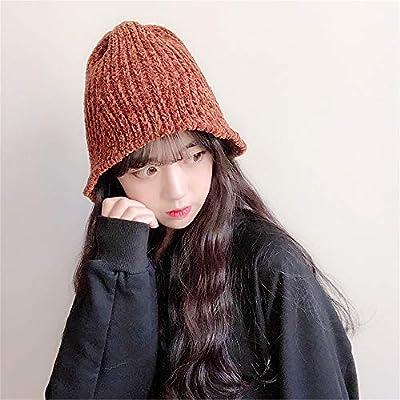 Boina de Lana para Mujeres Sombrero de Invierno de Lindos Colores Sólidos