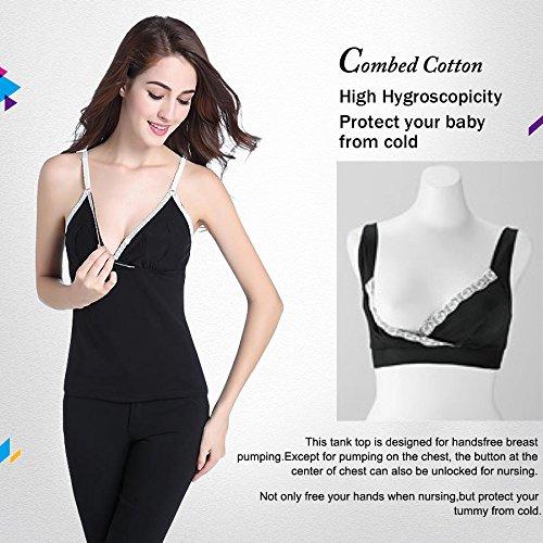 ed20cfcbd9d Amazon.com   HonPeach Womens Hands-Free Simplicity Breastpump Bra