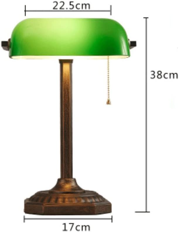 Table lamp WTL Lighting Luces Antiguas de Cobre del Banco Vintage ...