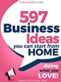 PLEASE NOTE: This little FREE booklet does NOT provide detailed business blueprints or a course on how to start a business. It is a list of 597 Business Ideas and a few proven strategies to make them a reality. Pointers of what to do next once you've...