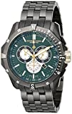 Chase-Durer Men's 850.4EGM Crossfire Gunmetal Ion-Plated Stainless Steel Chronograph Watch