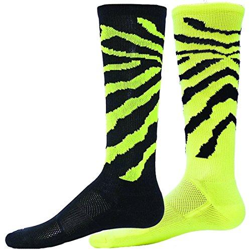 Red Lion Mx Wildcat Mismatched Knee High Socks