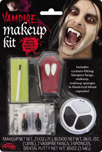 Vampire Makeup and Fangs Kit