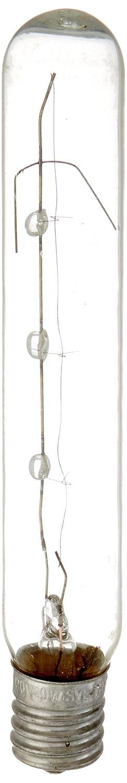 Sylvania 18152 40-Watt Clear Tubular Intermediate Base Incandescent T6.5 Bulb