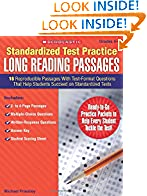 #10: Standardized Test Practice: Long Reading Passages: Grades 5-6: 16 Reproducible Passages With Test-Format Questions That Help Students Succeed on Standardized Tests
