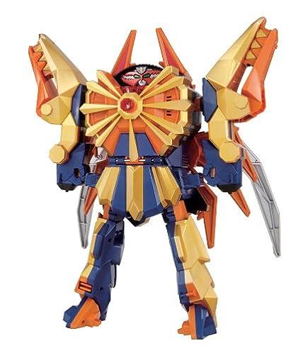Power Rangers Samurai Sentai Shinkenger DX Beetle Kabuto Origami zord Megazord